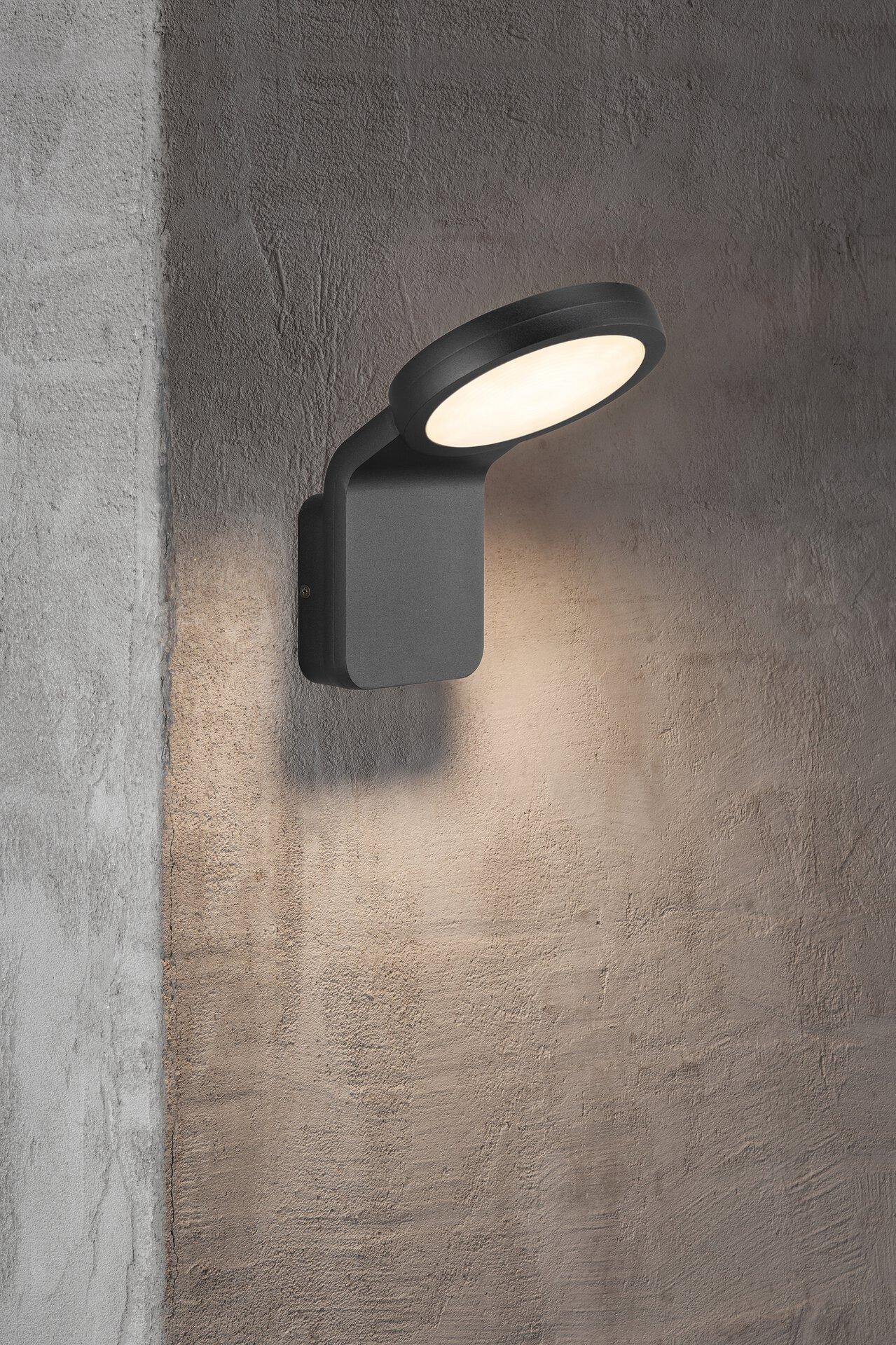 Wand-Aussenleuchte MARINA FLATLINE Nordlux Metall schwarz 18 x 20 x 14 cm