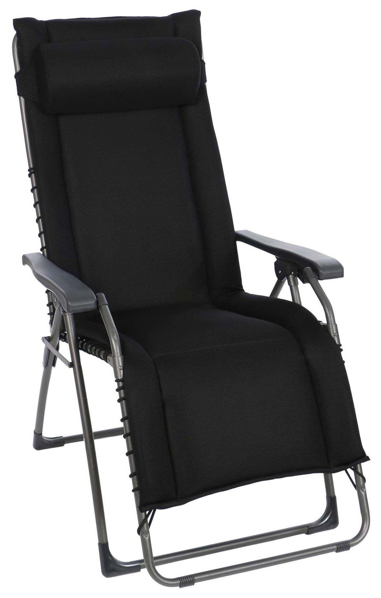 Relaxsessel OASI Sungörl Textil schwarz 73 x 14 x 111 cm