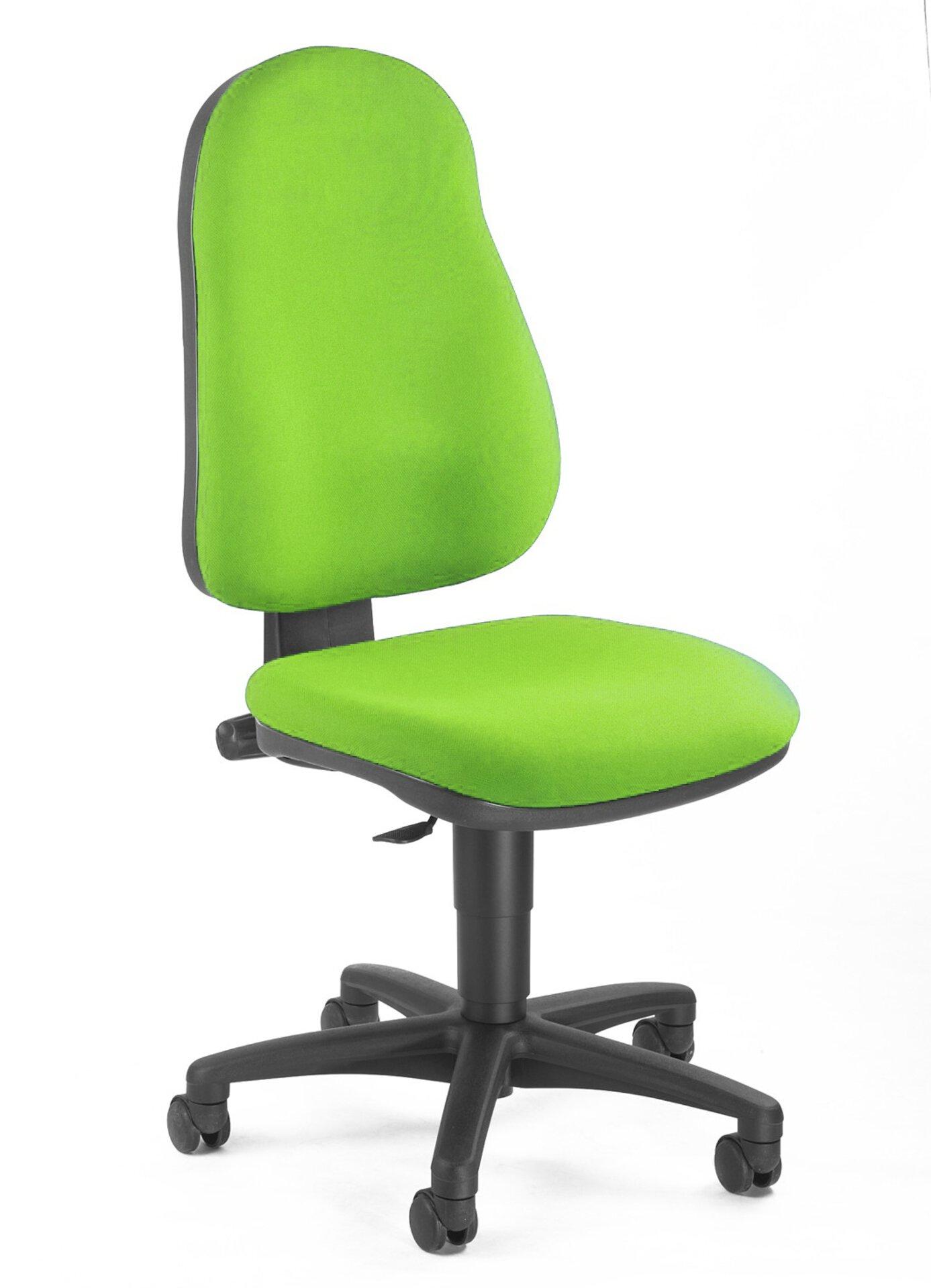 Büro-Drehstuhl POINT 50 Topstar Textil grün 46 x 110 x 45 cm