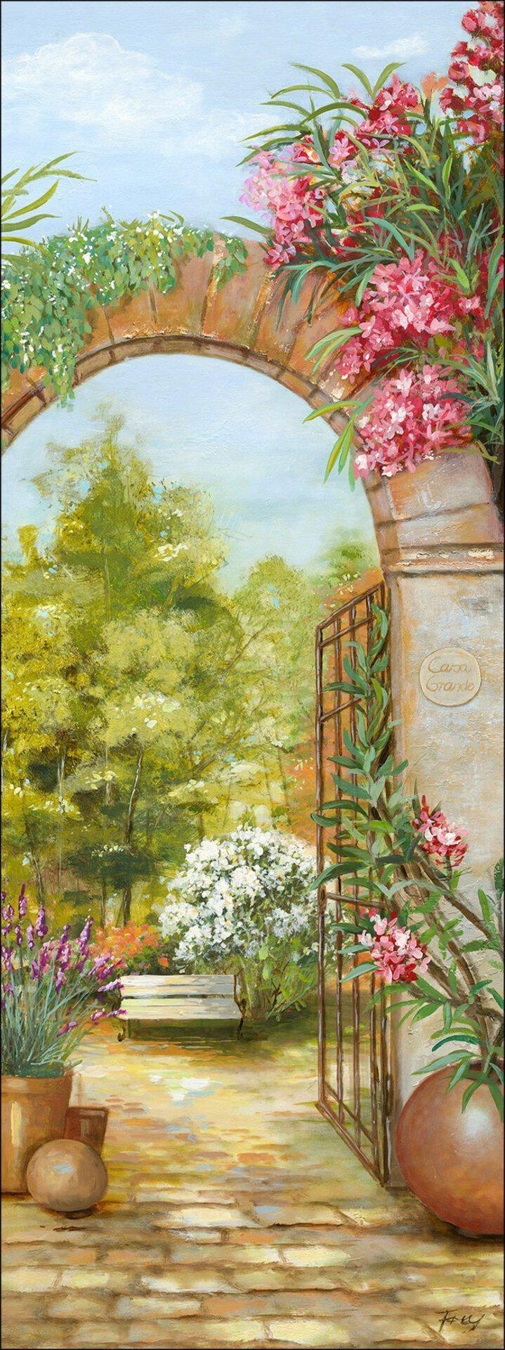 Bild Way To Garden I Pro-Art Holzwerkstoff mehrfarbig 77 x 27 x 2 cm