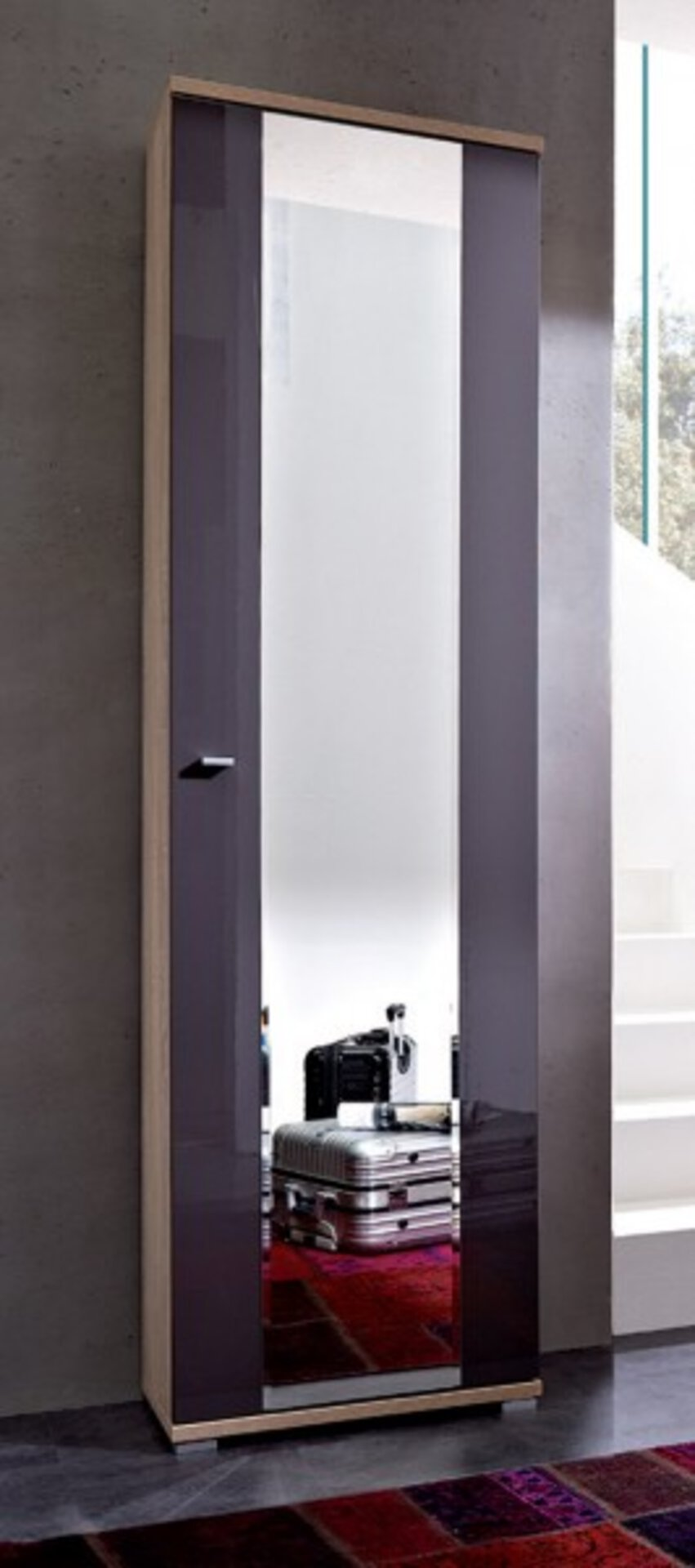 Garderobenschrank LIFE Vito Holzwerkstoff 34 x 199 x 54 cm