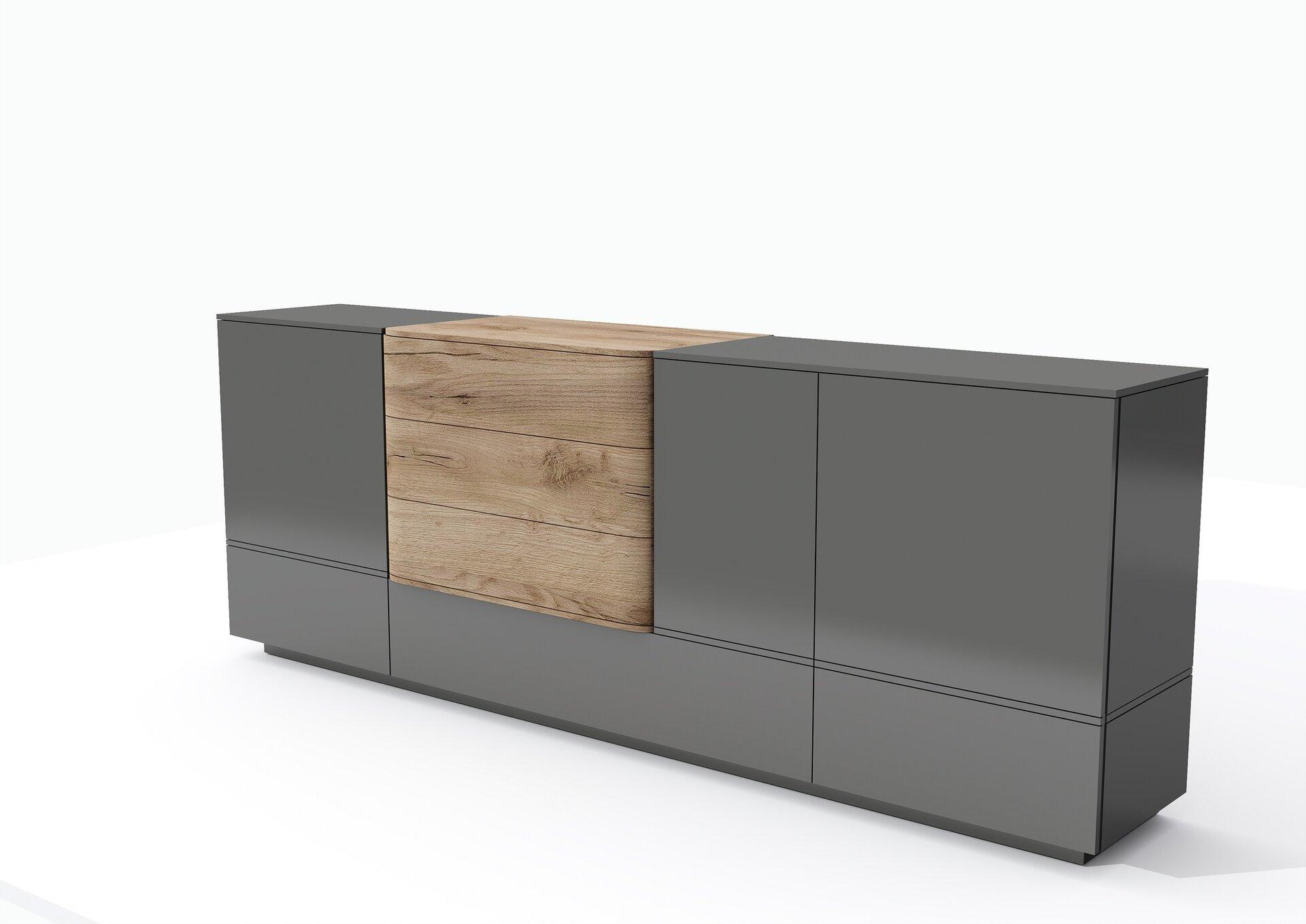 Sideboard BENVIDO MONDO Holzwerkstoff mehrfarbig 46 x 210 x 100 cm