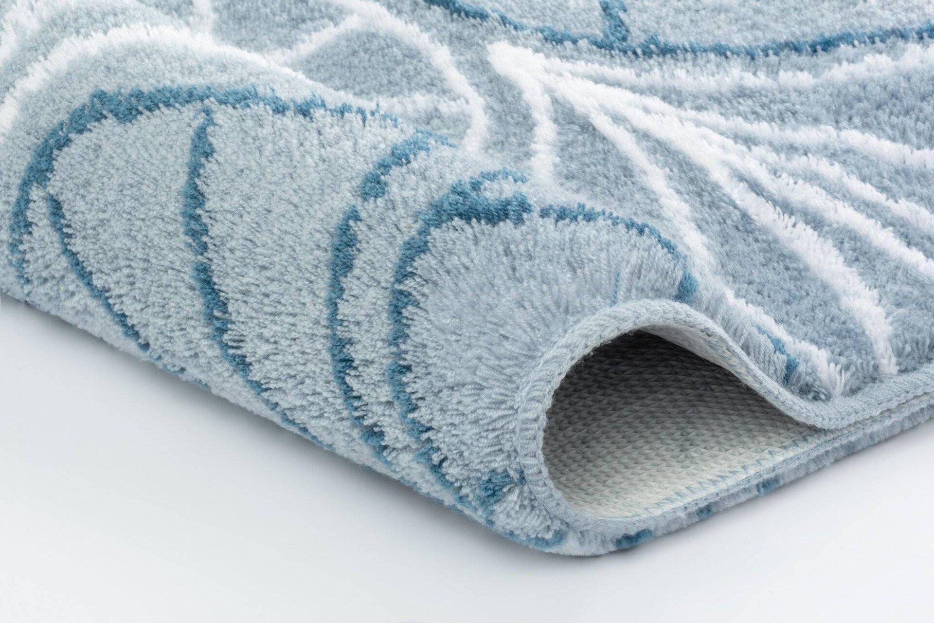 Badteppich Bloom Kleine Wolke Textil 120 x 2 x 70 cm