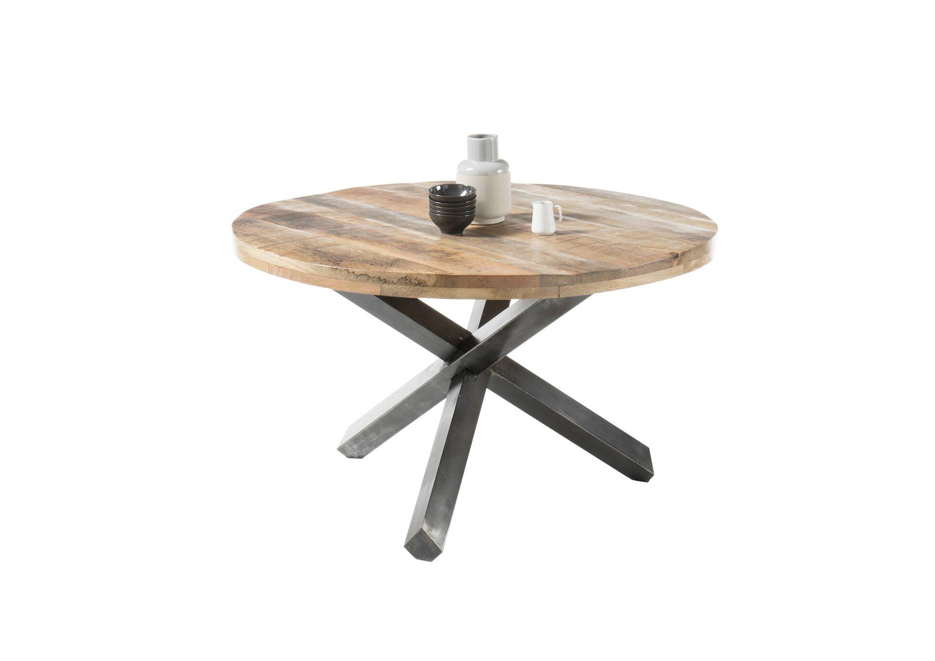 Esstisch ACE Dinett Holzwerkstoff braun 130 x 77 x 130 cm