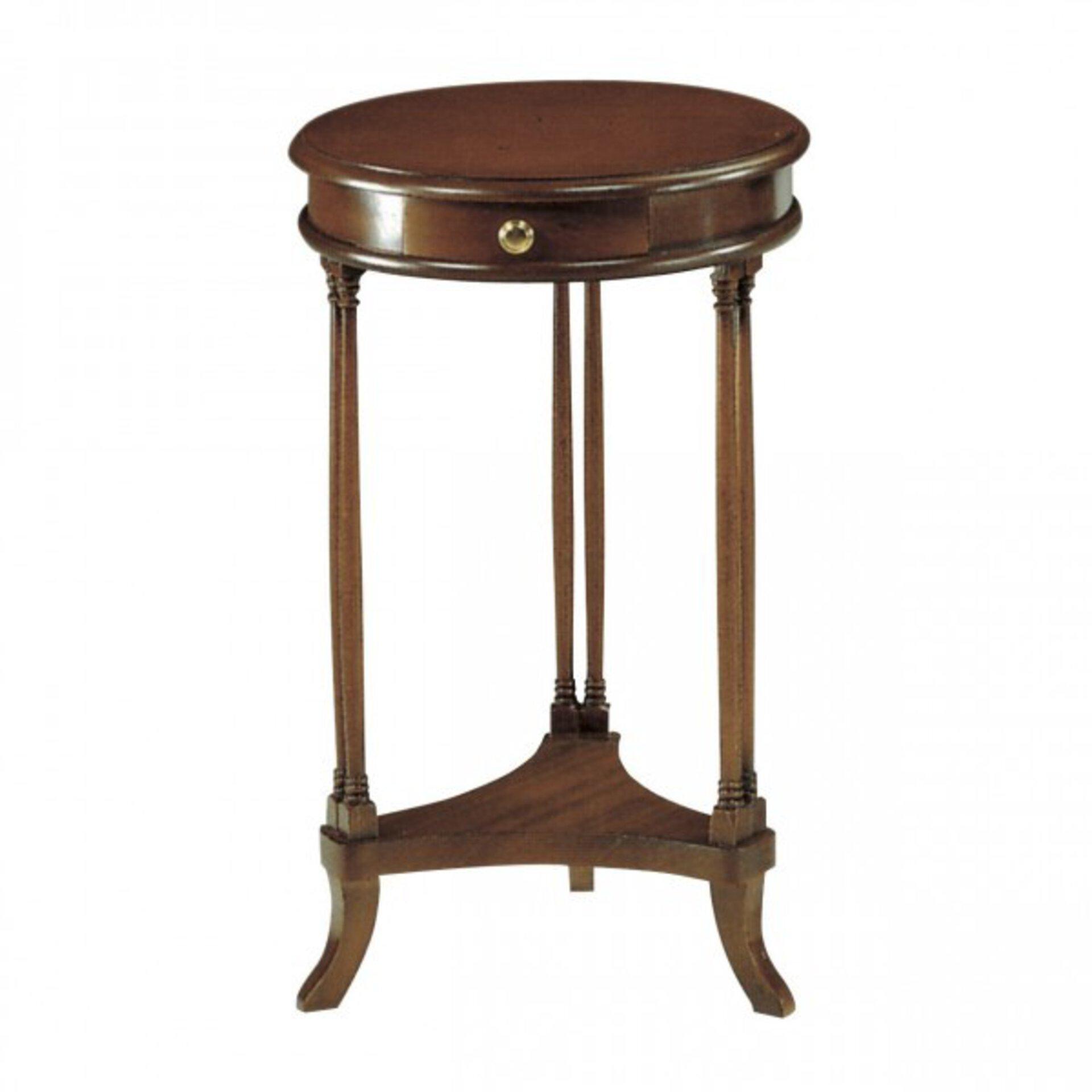 Beistelltisch IS-Stilmöbel Holz braun 70 x 44 x 44 cm