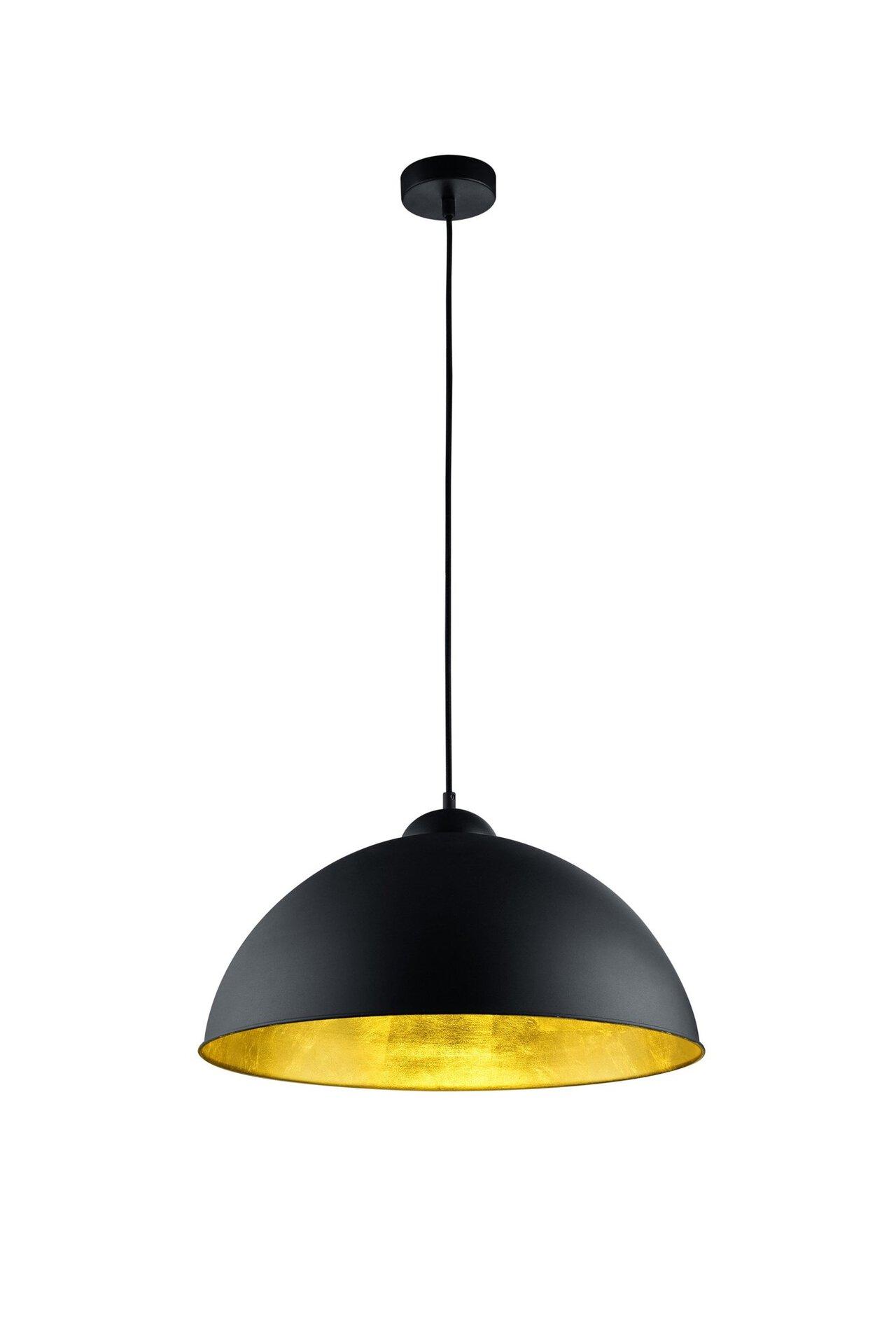 Hängeleuchte Romino II Trio Leuchten Metall schwarz 50 x 150 x 50 cm