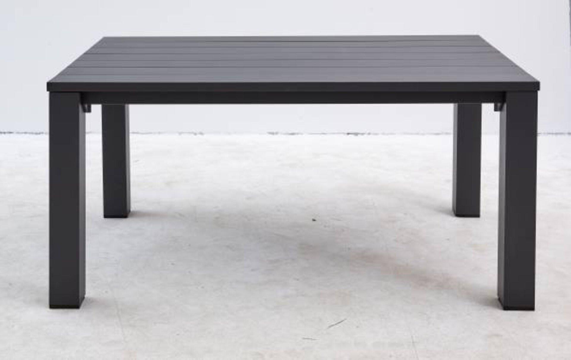 Gartentisch GASTRO Outdoor Metall grau 75 x 100 x 160 cm