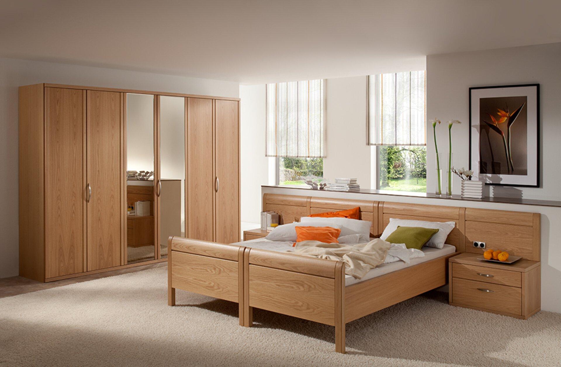 Schlafzimmer MORANI Dietz Holzwerkstoff mehrfarbig