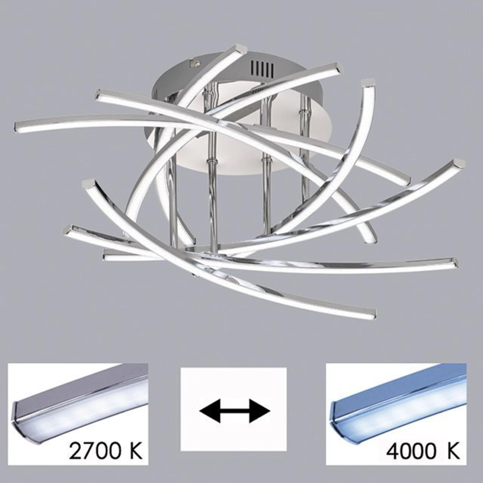 Deckenleuchte Cross TW Fischer-Honsel Metall 55 x 16 x 55 cm