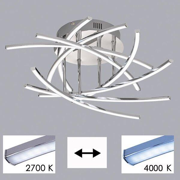 Deckenleuchte Fischer-Honsel  Metall chrom