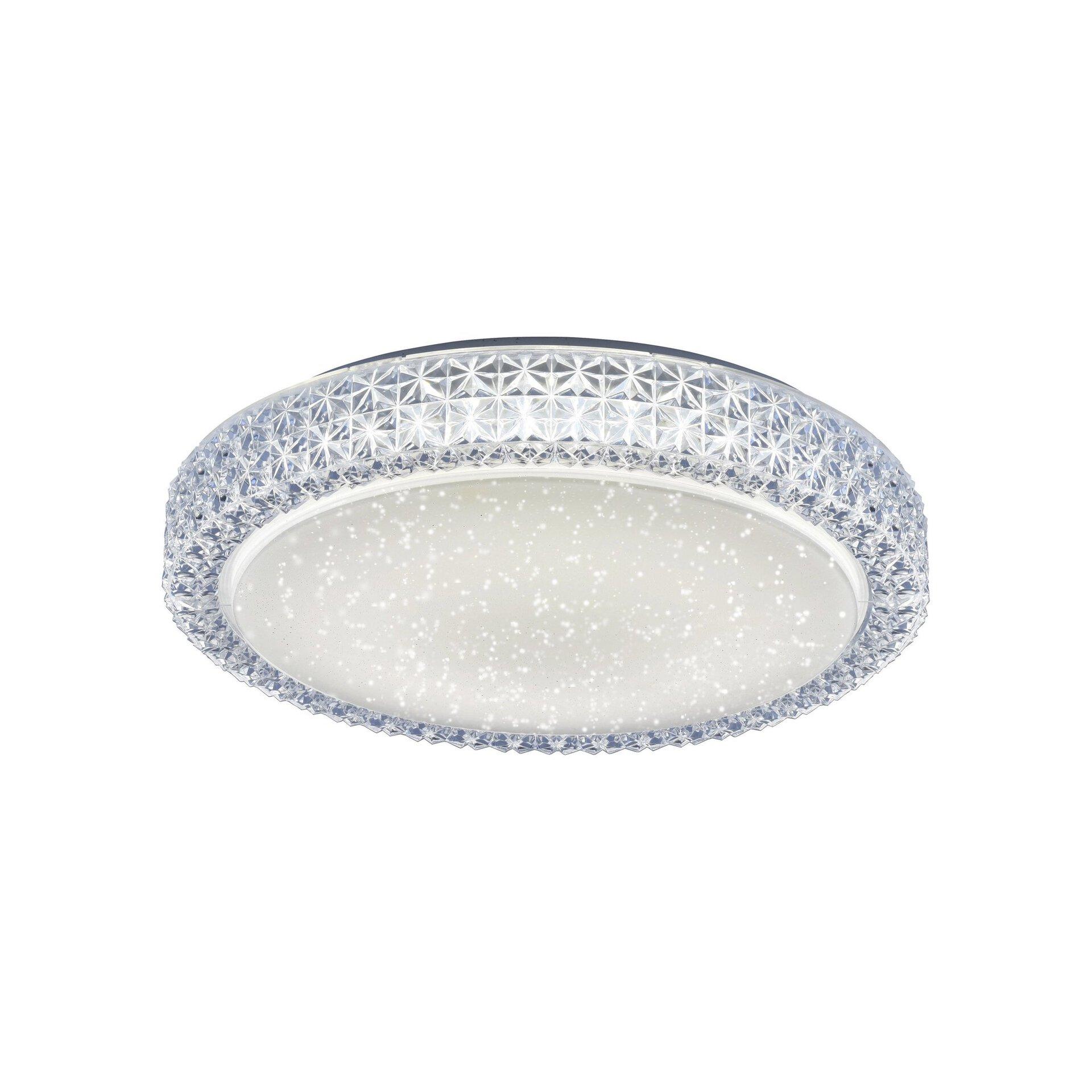 Deckenleuchte FRIDA Leuchtendirekt Kunststoff 40 x 10 x 40 cm