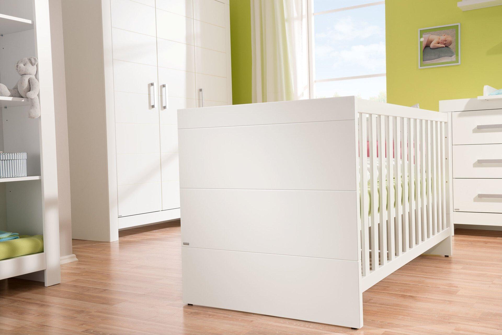 Kinderbett FIONA PAIDI Holzwerkstoff weiß 80 x 76 x 145 cm