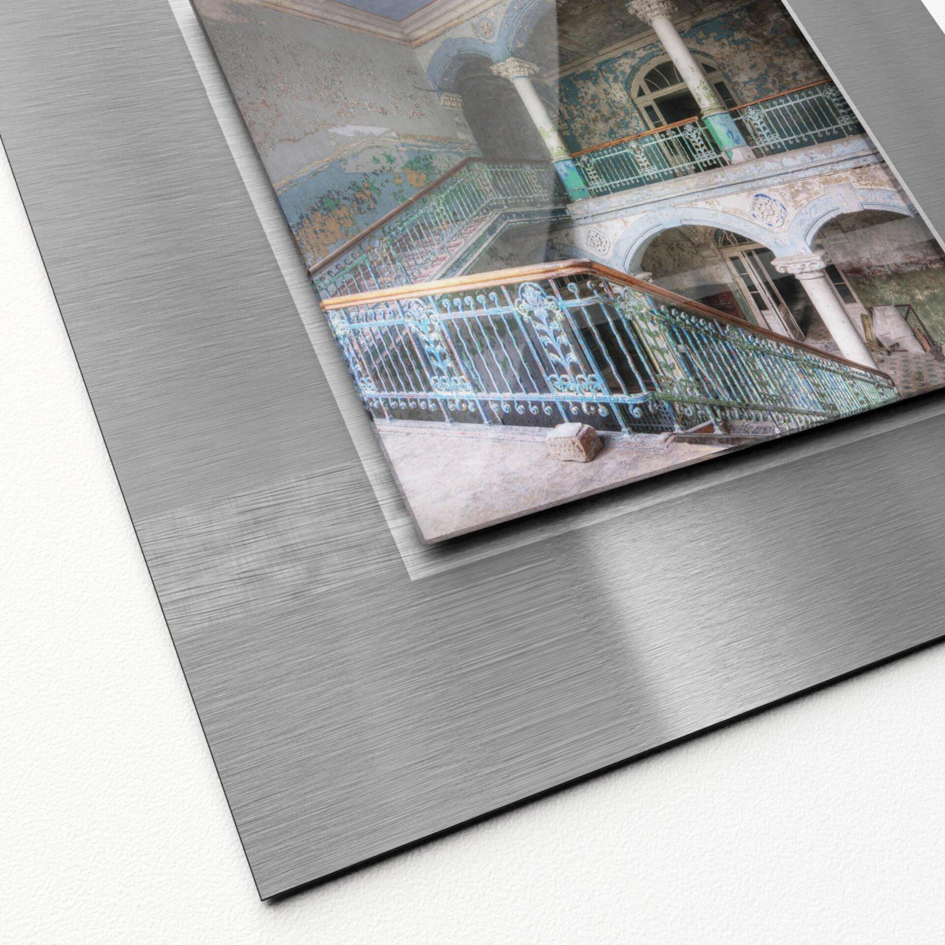 Bild Lost Lobby II Pro-Art Metall 50 x 50 x 1 cm