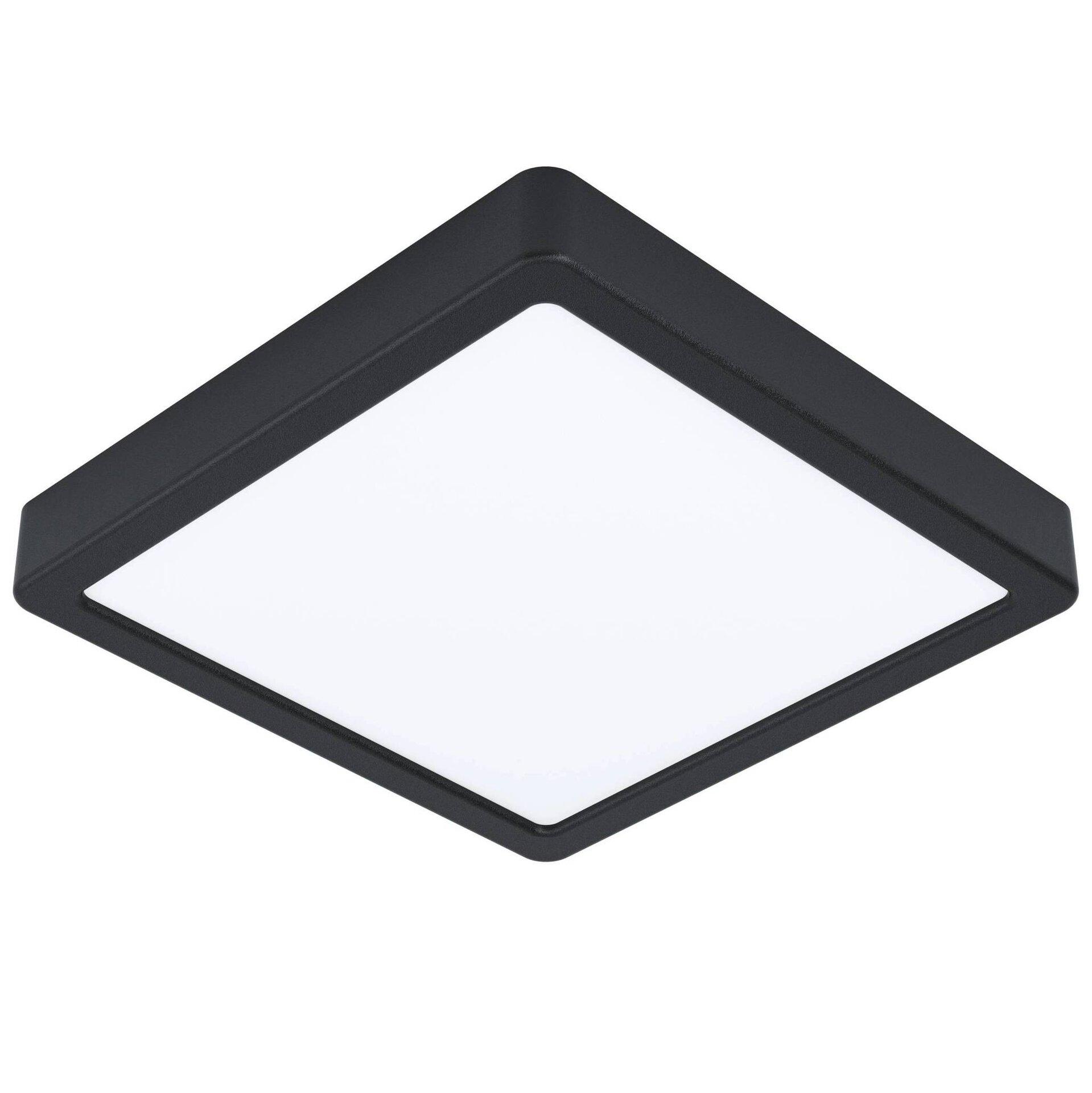 Deckenleuchte FUEVA 5 Eglo Metall schwarz 21 x 3 x 21 cm