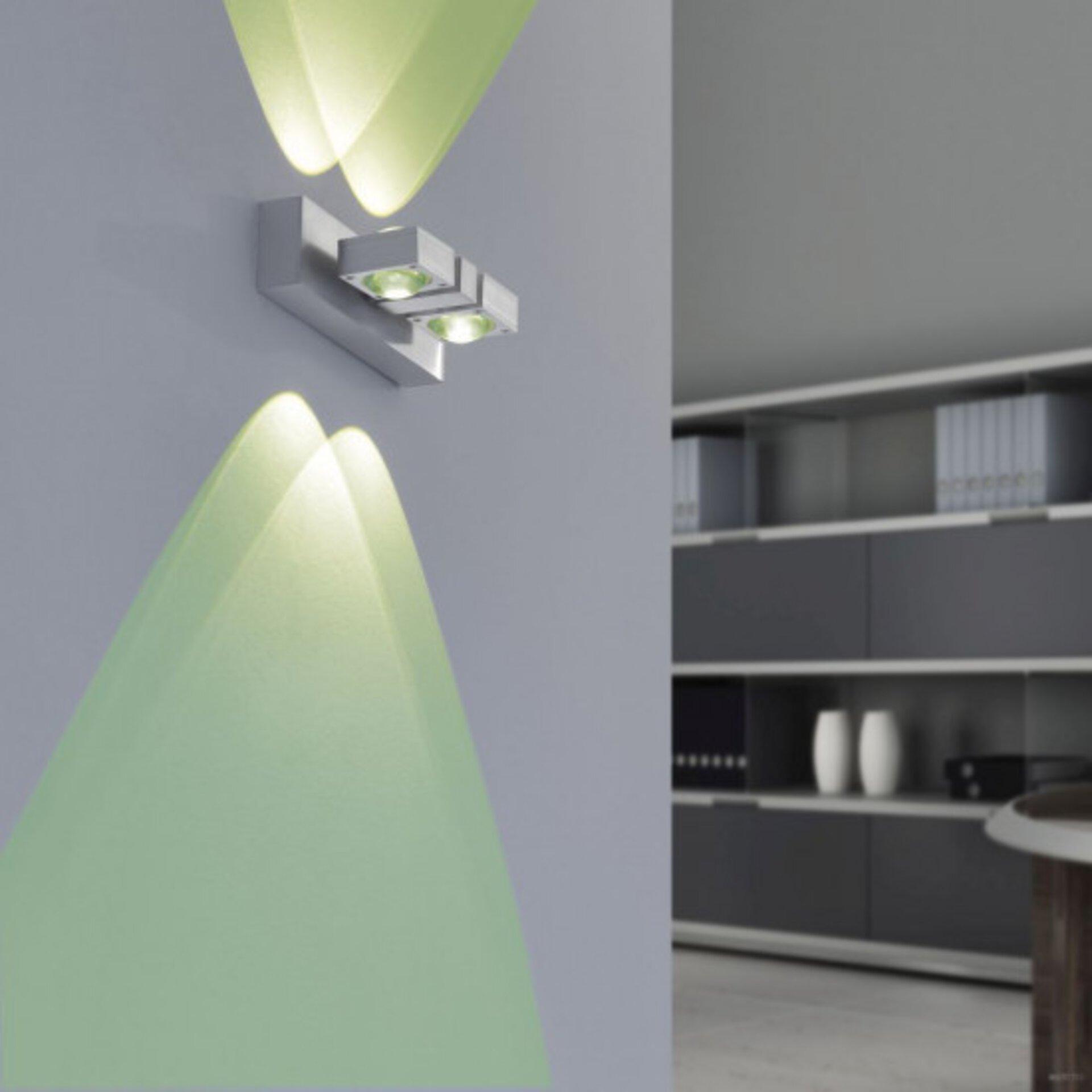Smart-Home-Leuchten Q-NEMO Paul Neuhaus Metall 16 x 10 x 22 cm