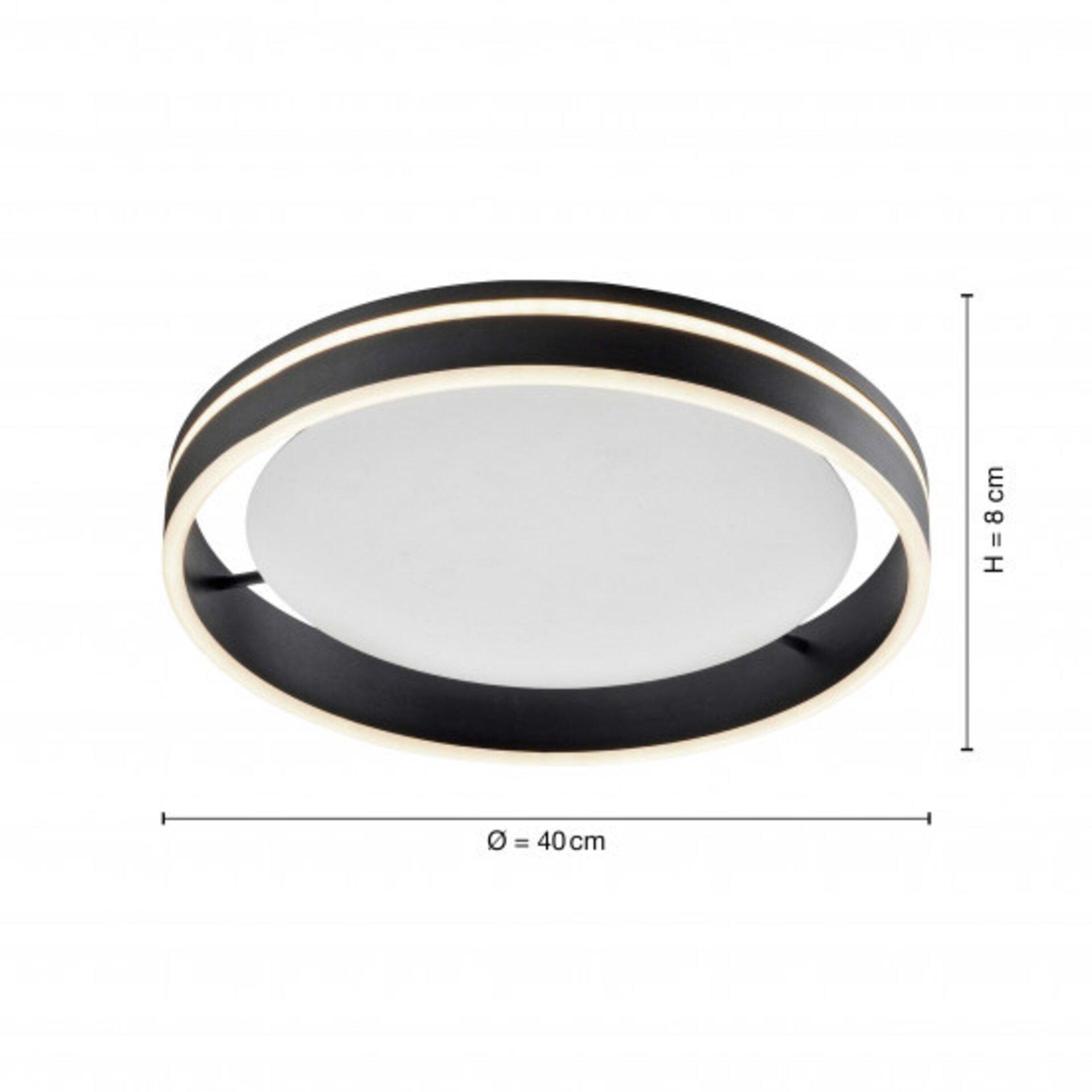 Smart-Home-Leuchten Q-VITO Paul Neuhaus Metall 40 x 8 x 40 cm