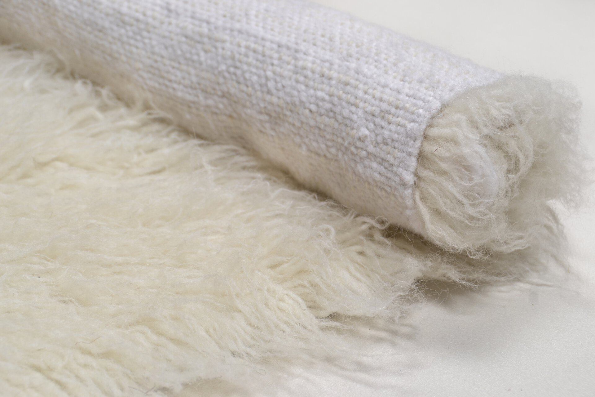 Fellteppich Royal Flokati Theko Textil braun