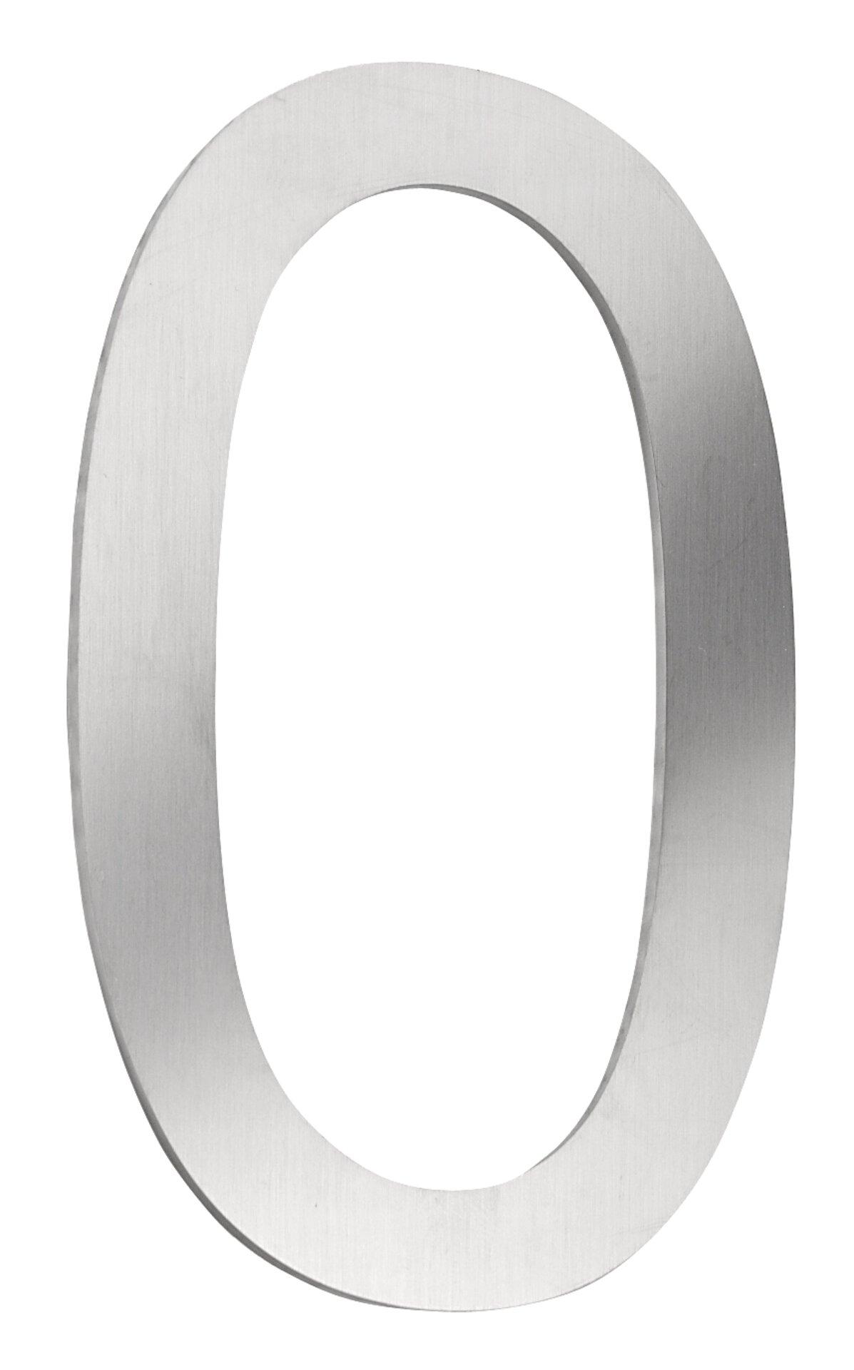 Hausnummer CMD Metall silber 10 x 16 x