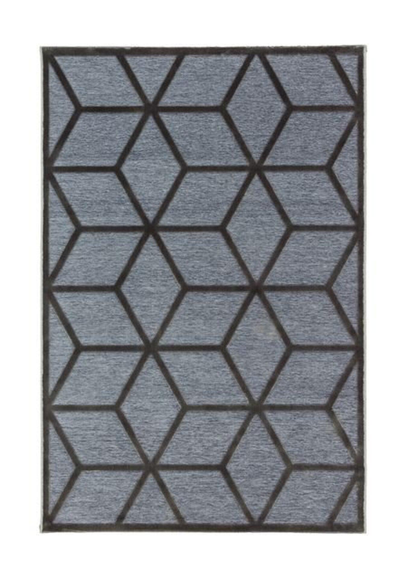 Maschinenwebteppich Graphic Joop! Textil grau 2 x 2 cm