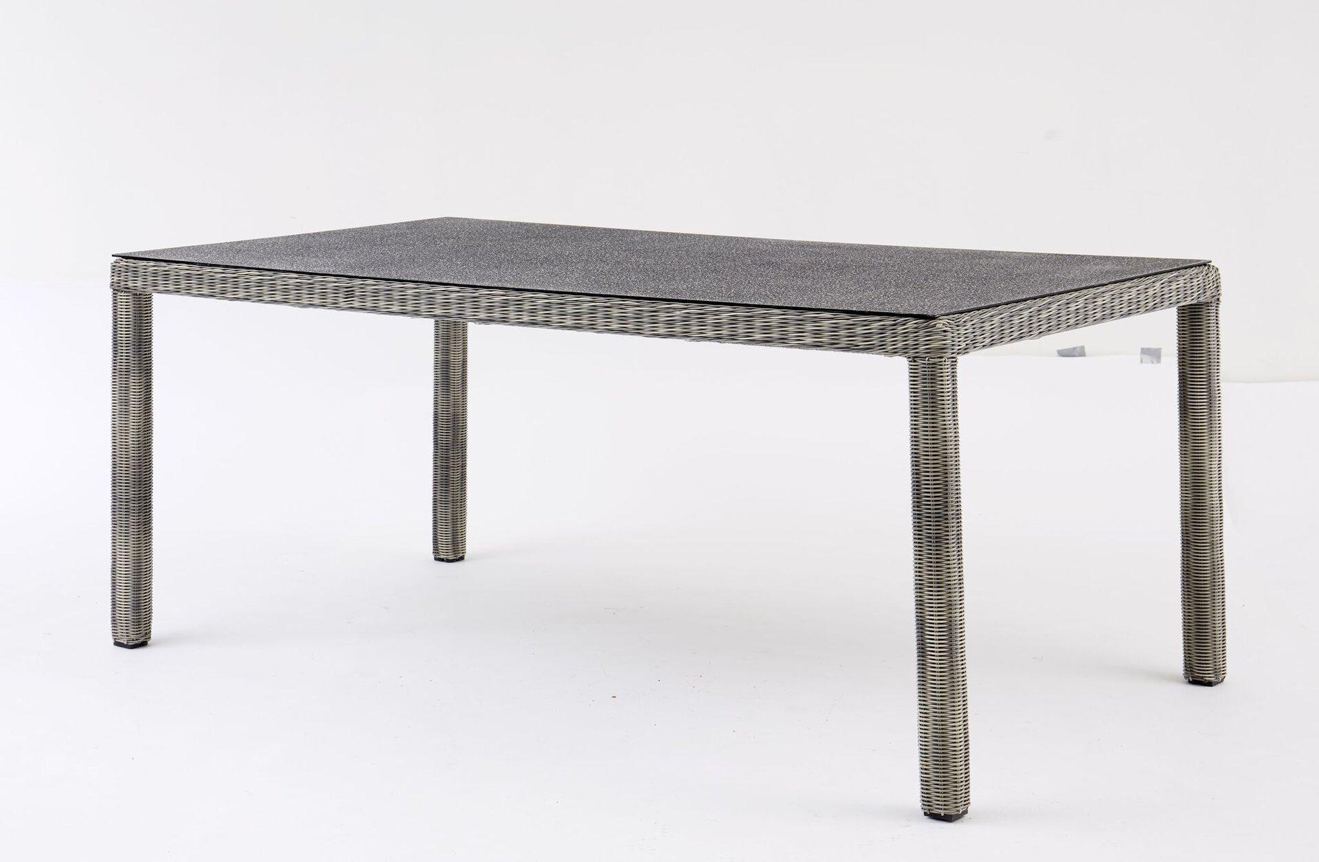 Gartenstuhl SMOKY III Outdoor Metall grau 62 x 92 x 64 cm