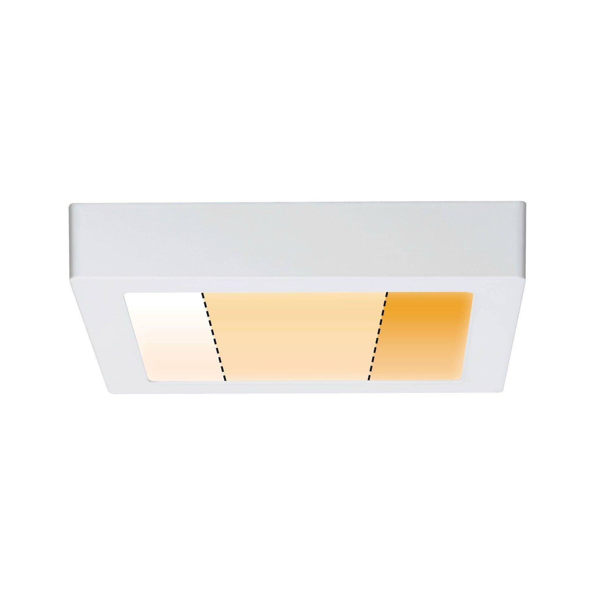 Panel Carpo Paulmann Metall weiß 23 x 4 x 23 cm