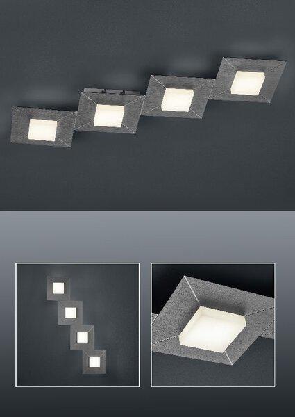 Smart-Home-Leuchten Bankamp Metall anthrazit ca. 24 cm x 6 cm x 81 cm