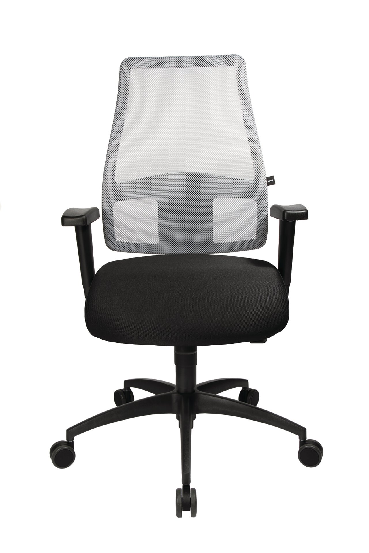 Büro-Drehstuhl COMFORT SY Topstar Textil schwarz 57 x 118 x 58 cm