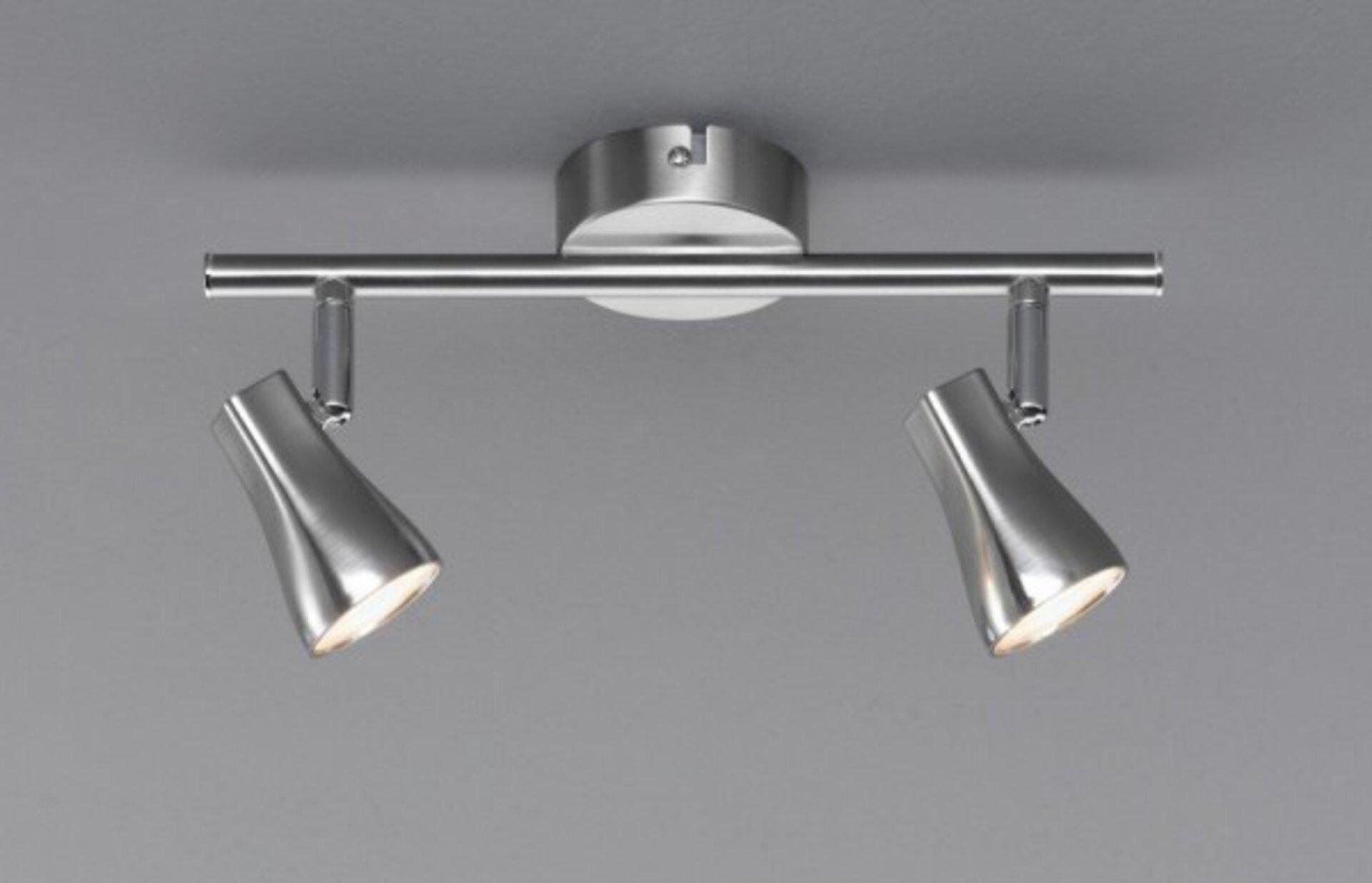 Strahler Trendy Casa Nova Metall silber 8 x 15 x 30 cm