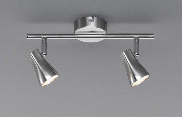 Strahler Casa Nova Metall silber ca. 8 cm x 15 cm x 30 cm