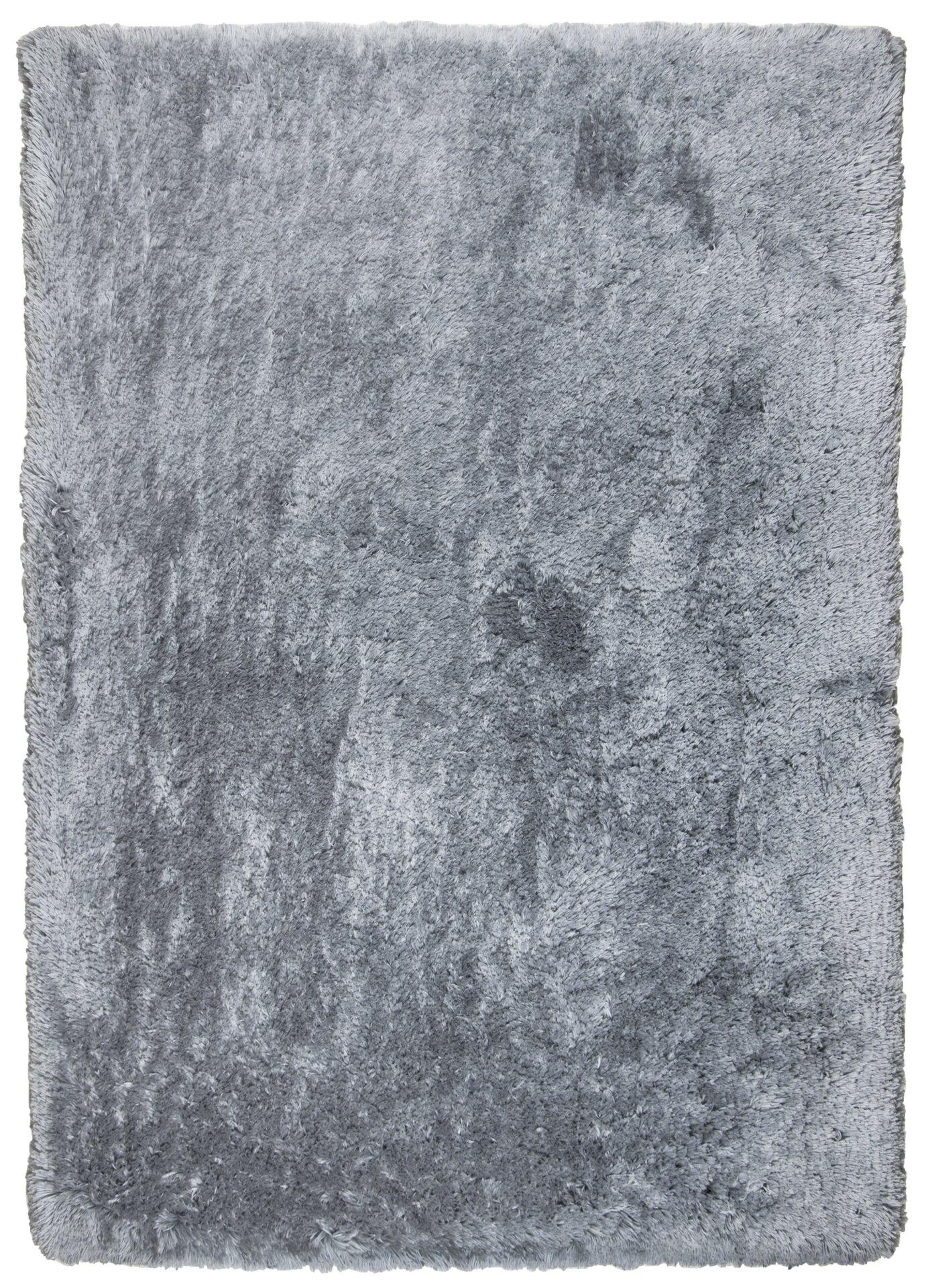 Handtuftteppich Flokato Theko Textil grau