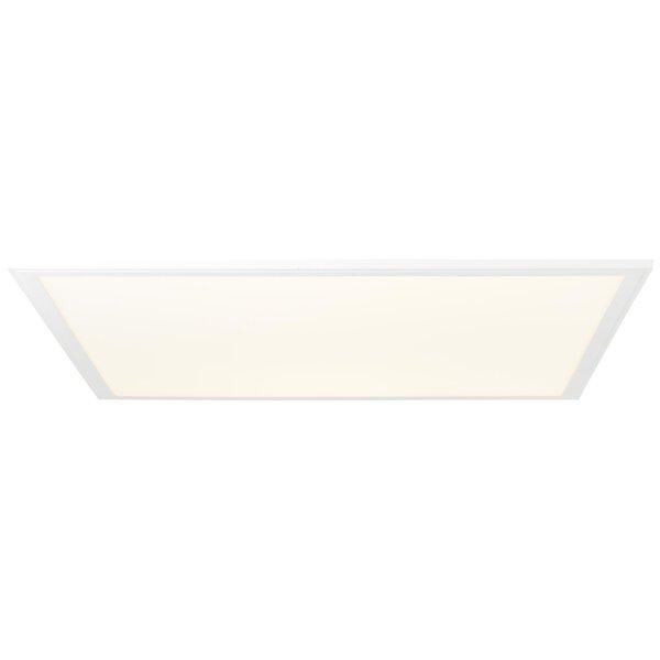 Deckenleuchte Brilliant Metall weiß ca. 60 cm x 6 cm x 60 cm