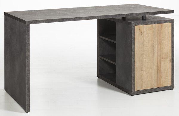 Schreibtisch inbuy Holzwerkstoff Riviera Oak Nachbildung ca. 70 cm x 74 cm x 140 cm