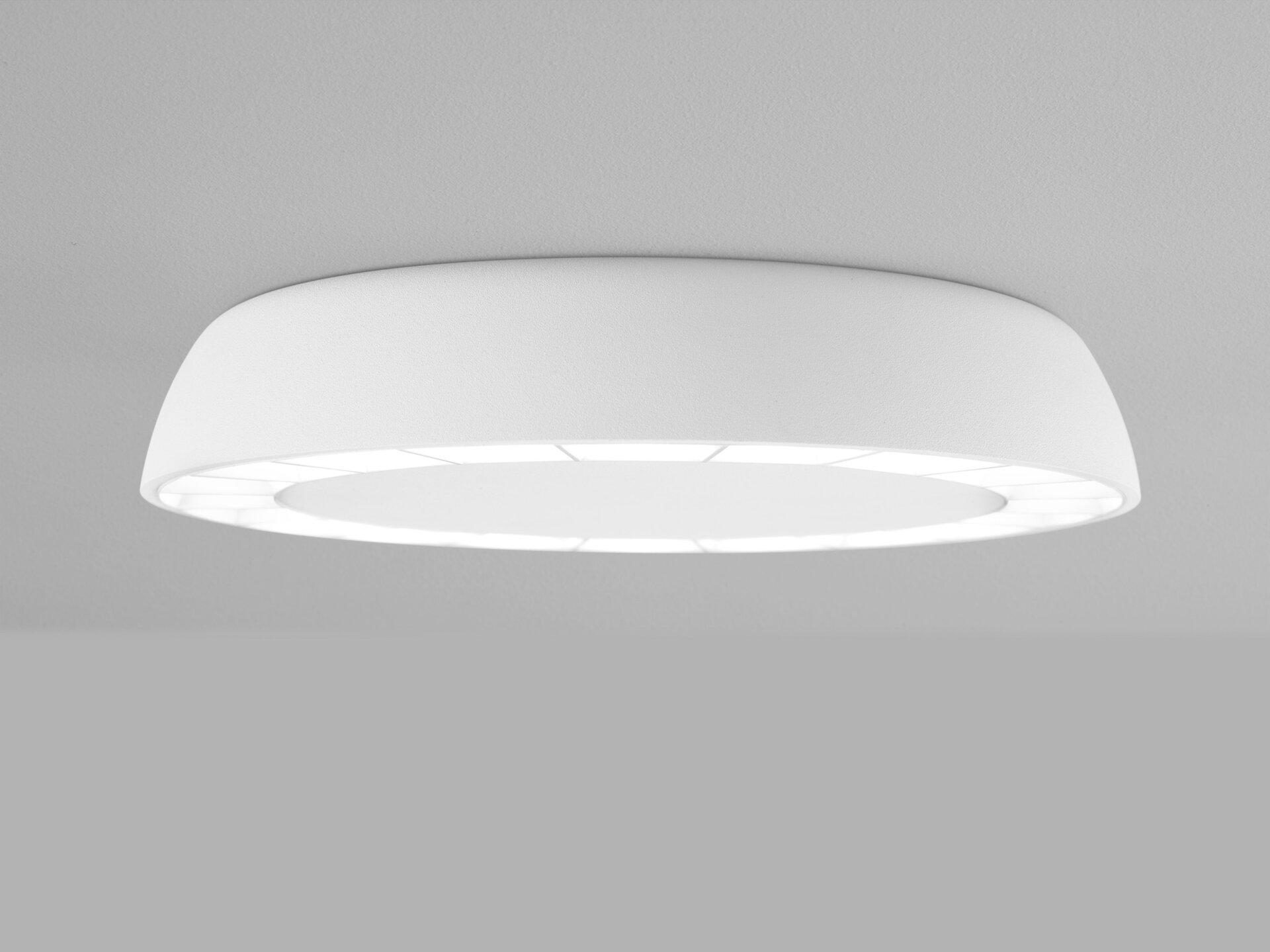 Deckenleuchte PAIR Helestra Leuchten Metall weiß 19 x 4 x 19 cm
