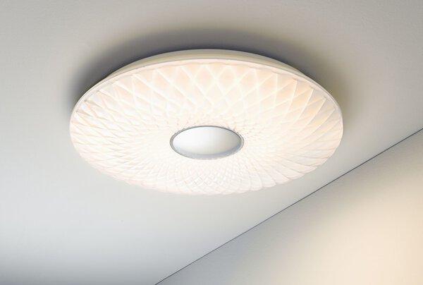 Deckenleuchte Casa Nova Kunststoff weiß ca. 51 cm x 10 cm x 51 cm