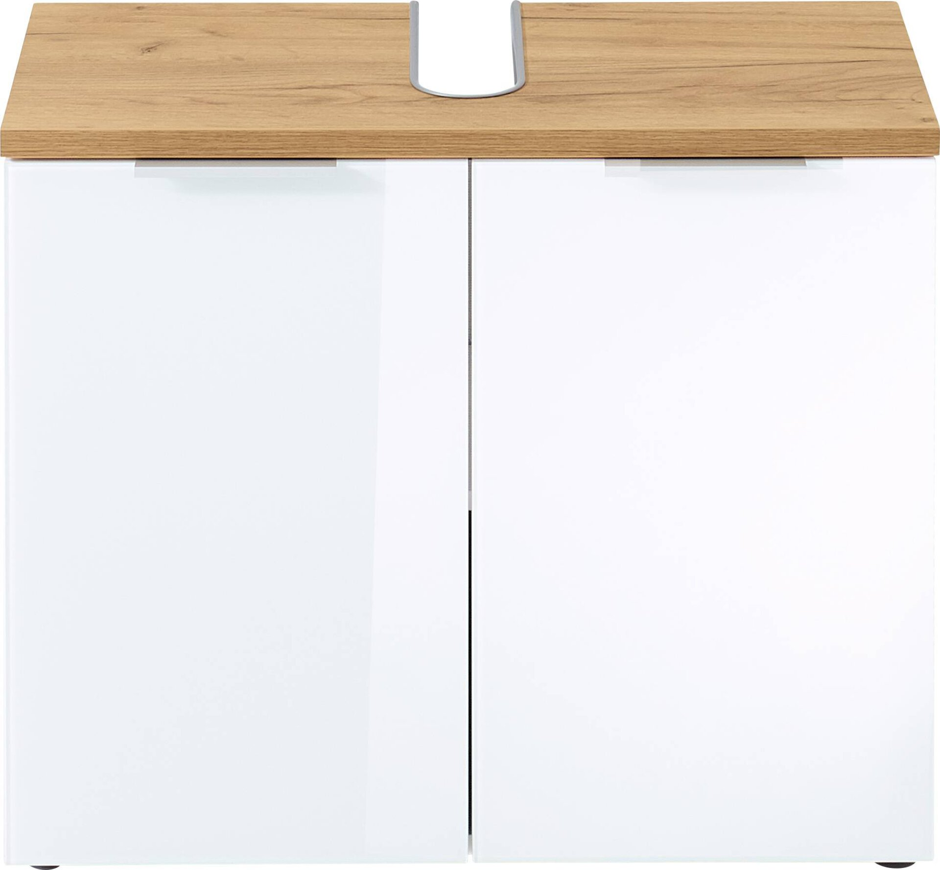 Waschbeckenunterschrank GW-PESCARA Germania Metall weiß 34 x 58 x 70 cm