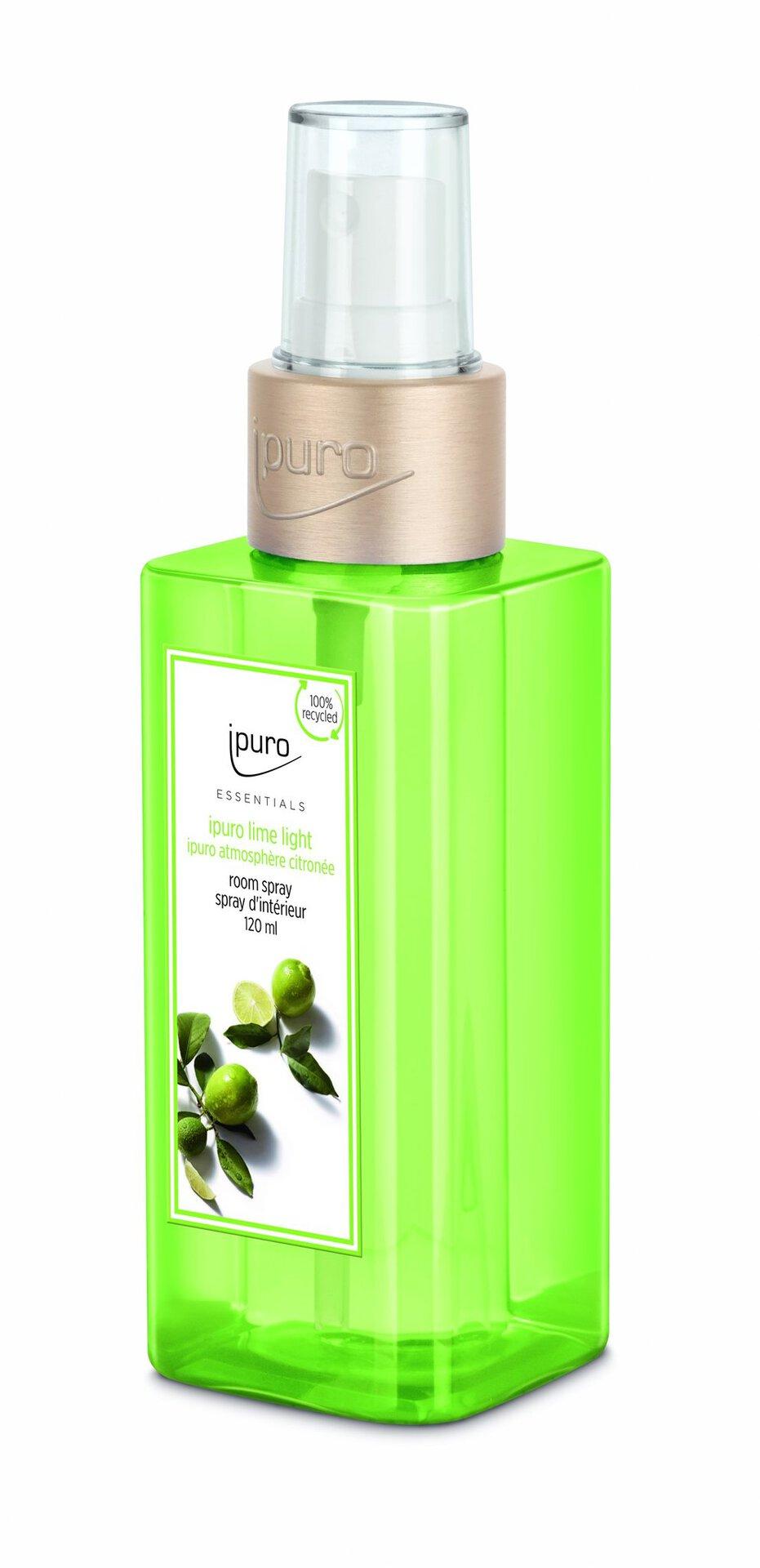 Raumduft lime light ipuro Kunststoff transparent