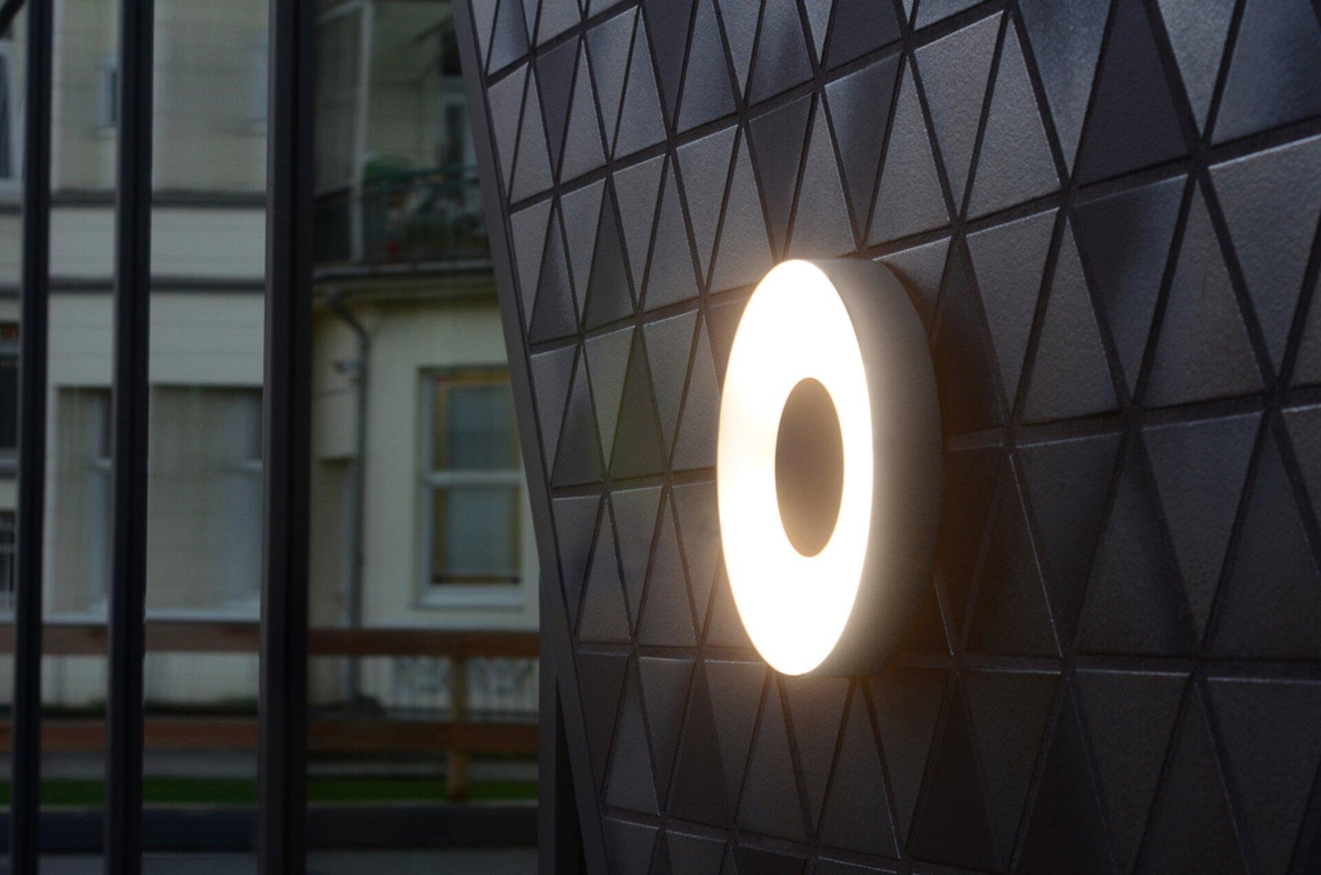 Wand-Aussenleuchte Ublo Eco-Light Metall 19 x 5 x 19 cm