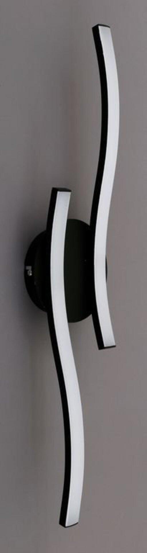 Deckenleuchte GO Briloner Metall schwarz 12 x 7 x 56 cm
