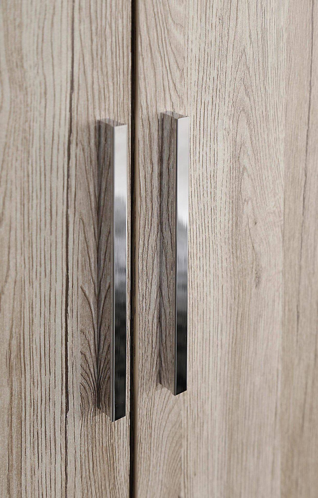 Drehtürenschrank Dimension-5 / Typ 1 rauch ORANGE Holzwerkstoff 100 x 226 x