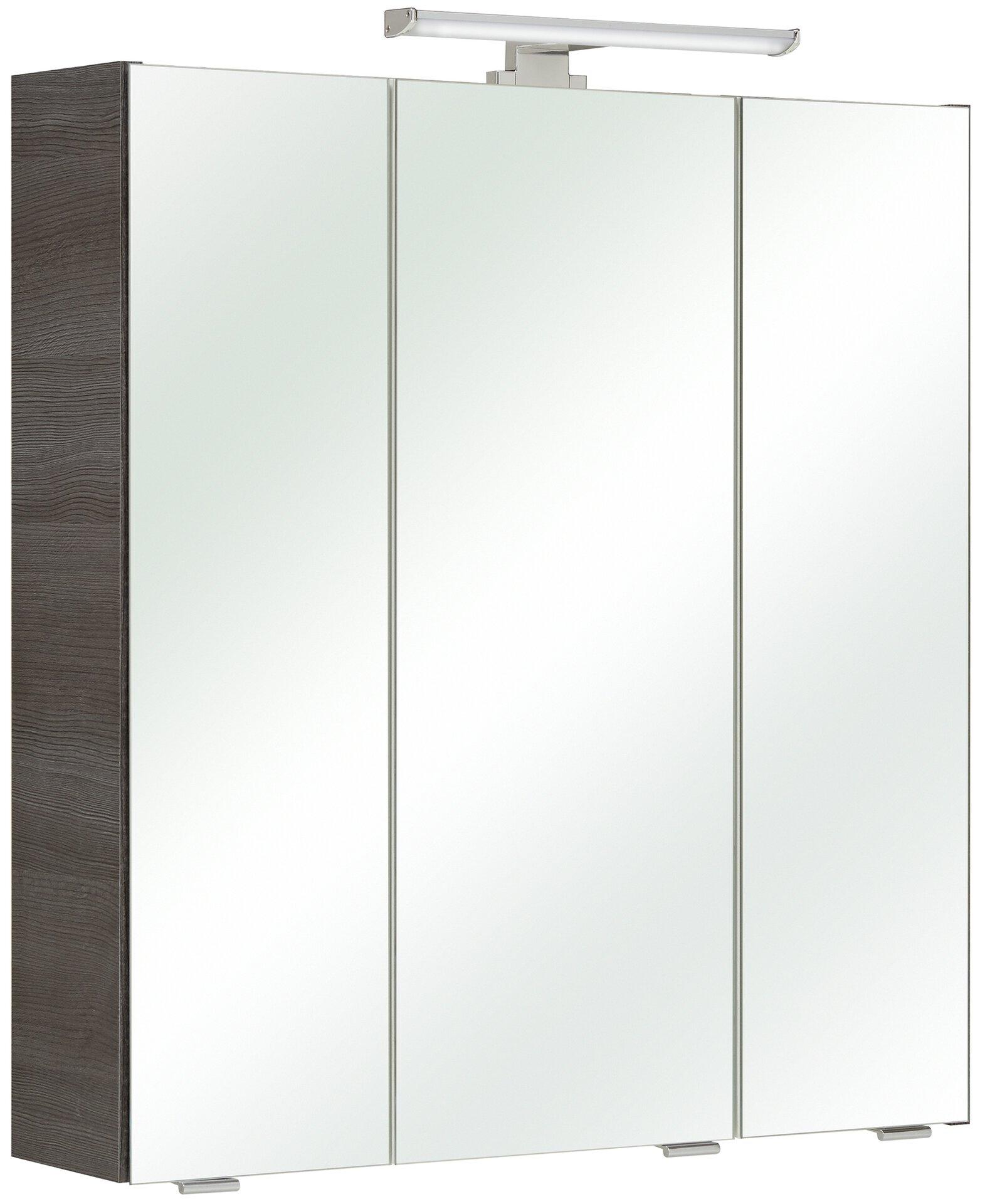 Spiegelschrank Jessi PELIPAL Holzwerkstoff grau