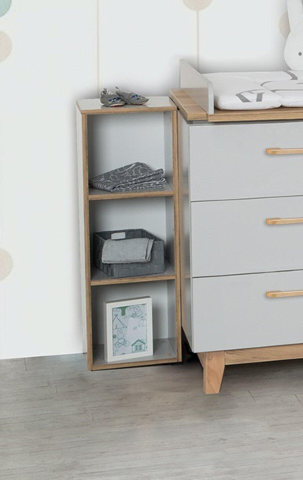 Regal Carina Roba Baumann Holzwerkstoff 30 x 92 x 21 cm