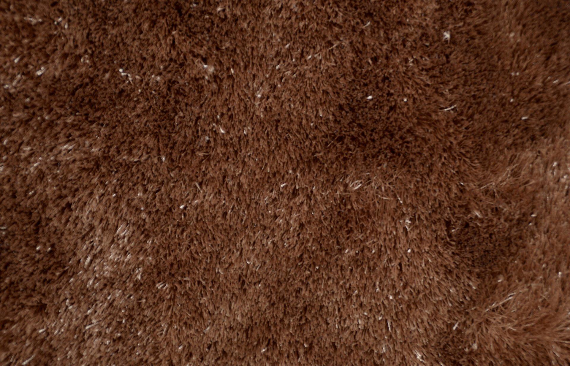 Handtuftteppich Visone Theko Textil braun 1 cm