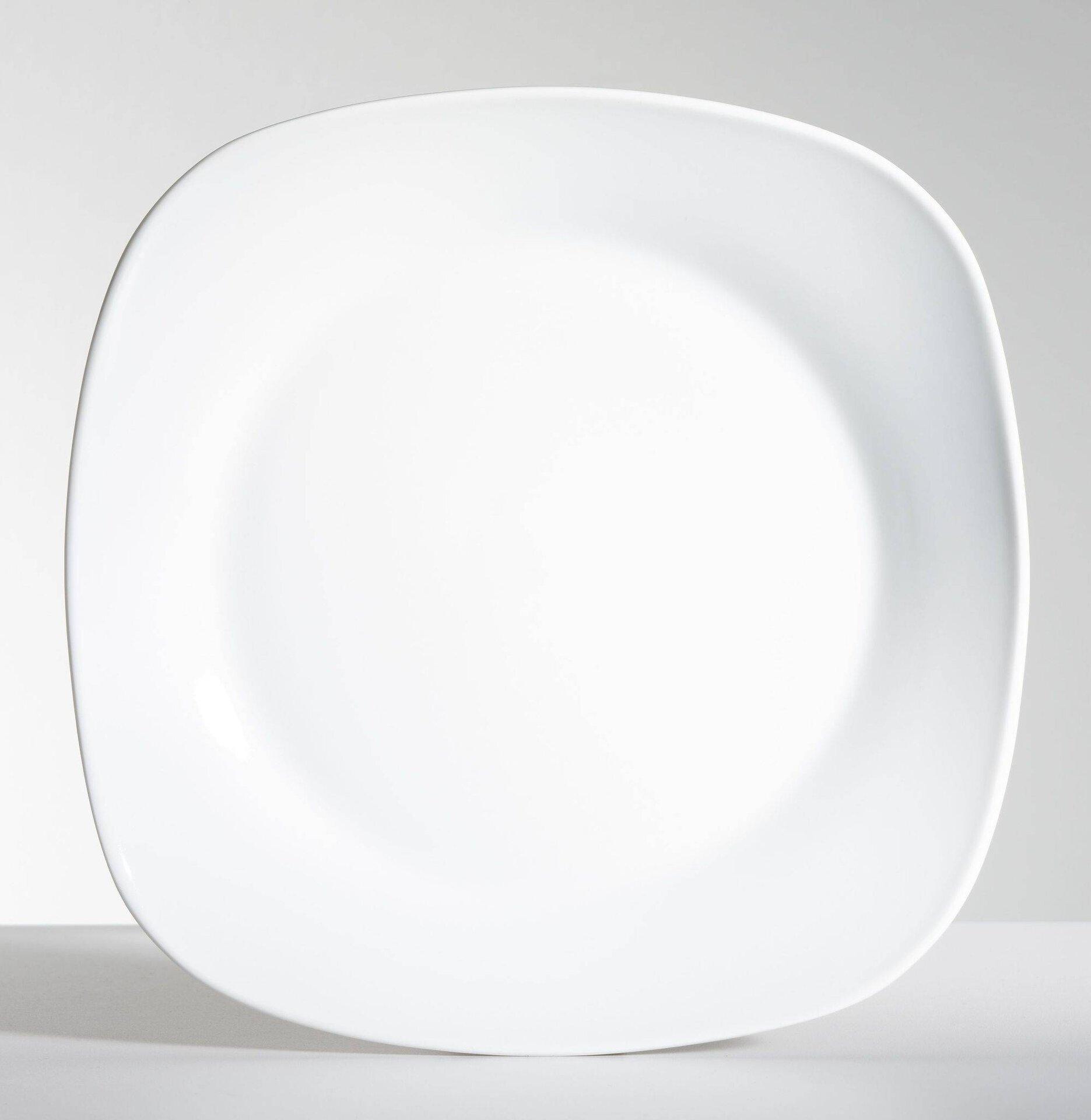 Geschirr Casa Nova Keramik weiß 24 x 24 cm