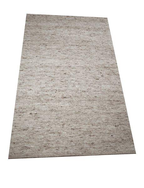 Handwebteppich Laax Allgäuer Teppichmanufaktur Textil 03 grau