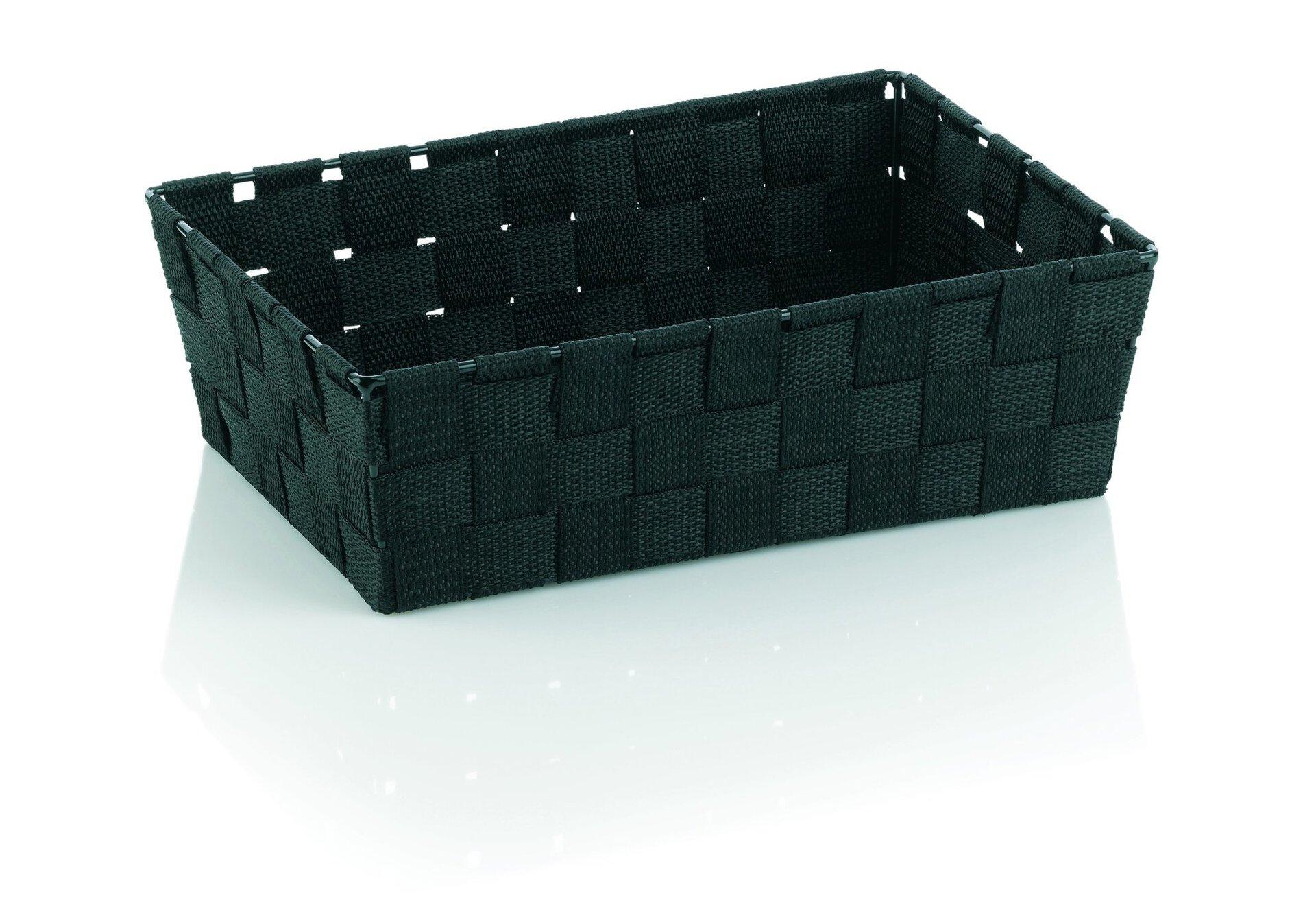 Aufbewahrung Alvaro Kela Kunststoff schwarz