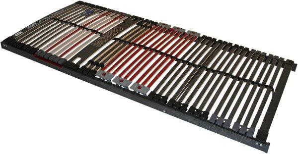 Lattenrost MONDO Holzwerkstoff, Kunststoff anthrazit ca. 90 cm x 9 cm x 200 cm