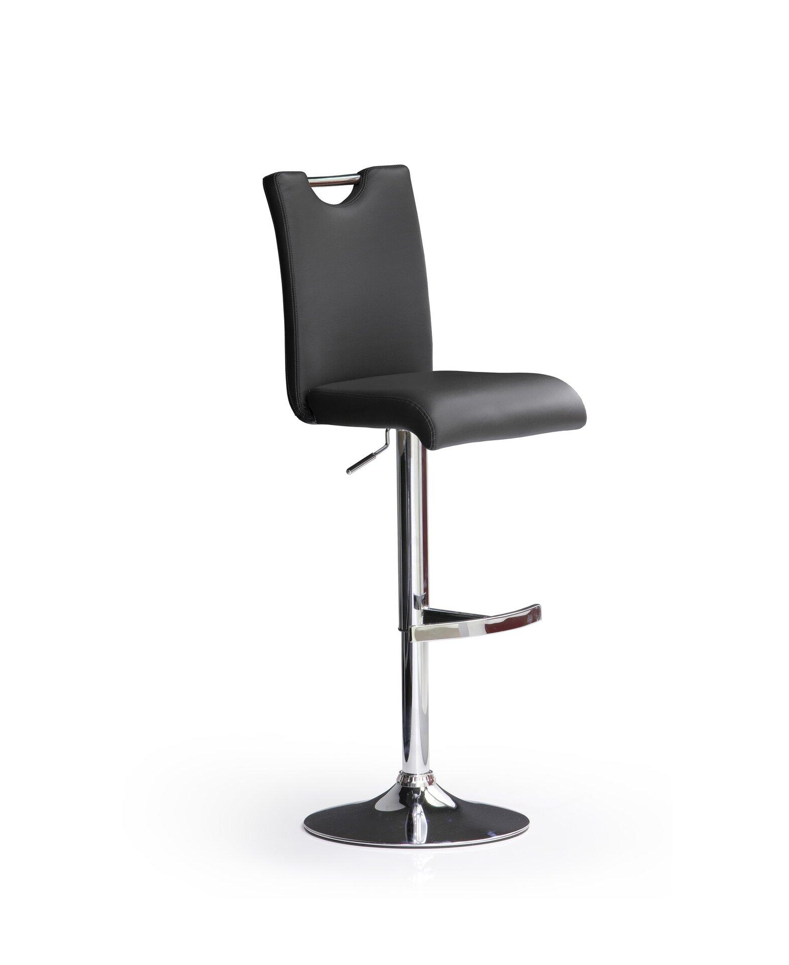 Barstuhl BARDO MCA furniture Textil 52 x 62 x 42 cm