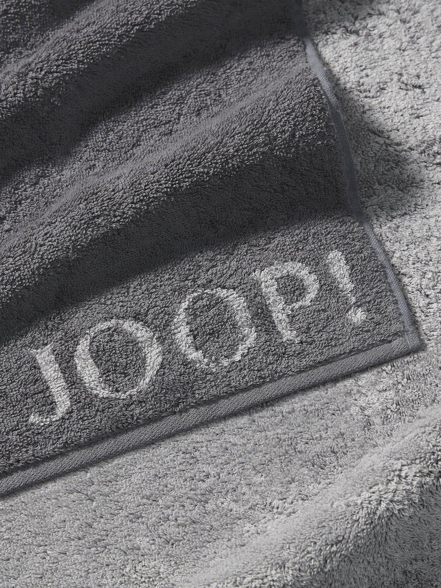 Duschtuch Doubleface Joop! Textil grau