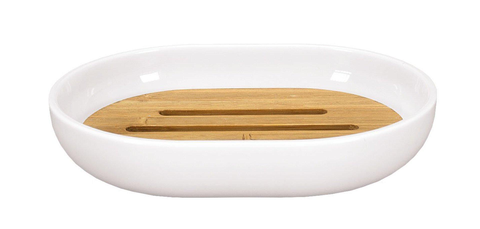 Seifenablage Timber Kleine Wolke Kunststoff 2 x 9 x 12 cm