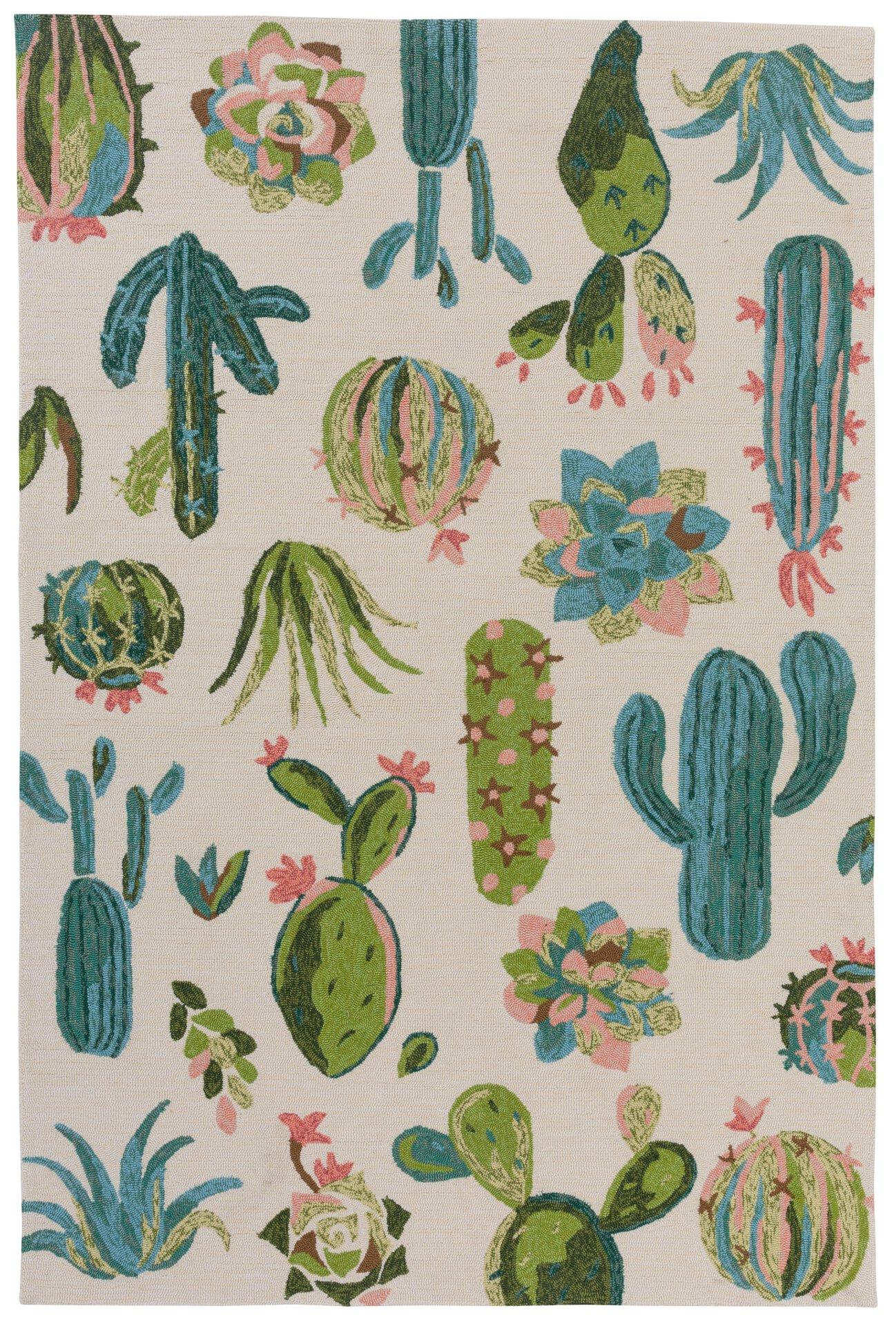 Handtuftteppich Rosetta Gino Falcone Textil weiß